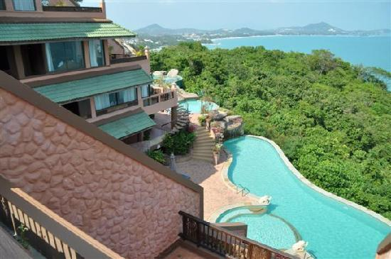 Samui Bayview Resort & Spa: View from our room 133