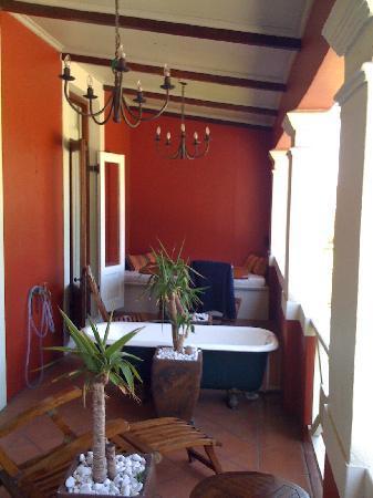 Cactus House : Balcony