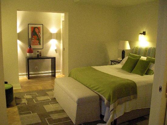 Astoria Hotel : Suite vue intérieure