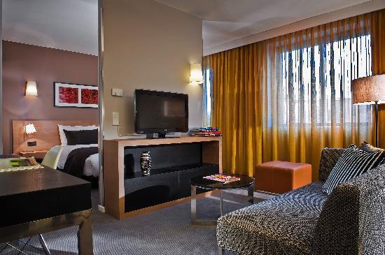 Adina Apartment Hotel Berlin Mitte: Studio-Apartment