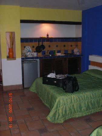 Playa Conchas Chinas Hotel: bedrooms