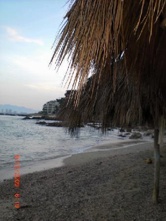 Playa Conchas Chinas: la play a conchas chinas