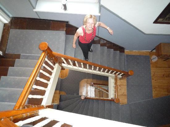 Das Stadthaus: Treppenhaus für sportliche