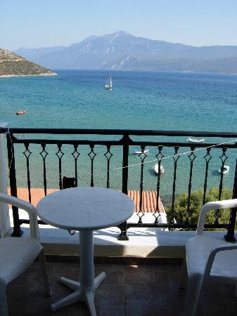 Psili Ammos, กรีซ: Vista sulla Turchia !