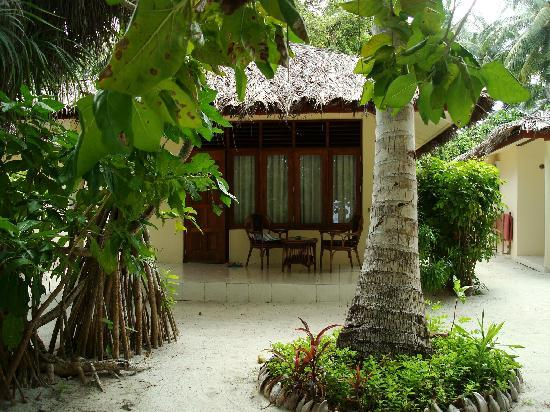 Vilamendhoo Island Resort & Spa: il bungalow