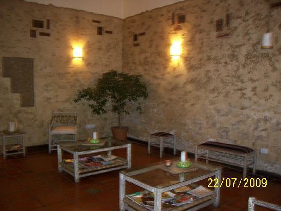 Hotel Refugio Del Inca: sala de estar
