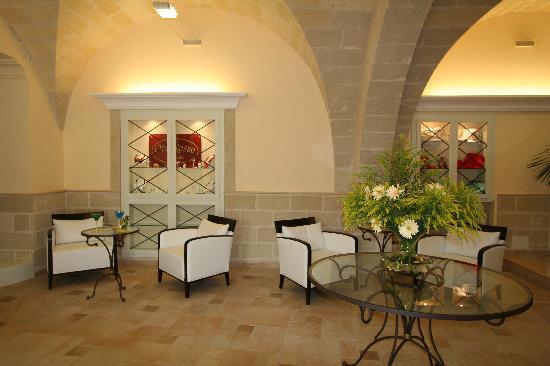 Grand Hotel Florio: hall