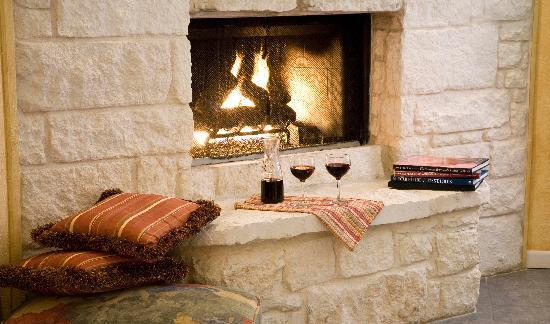 Blair House Inn: Cozy up with that special someone in front of your own fireplace.