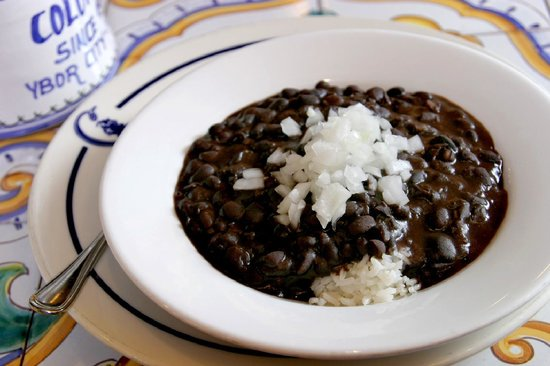 Columbia : Cuban Black Bean Soup - 100% Vegetarian