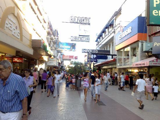Hotel Plaza: La Peatonal Junin