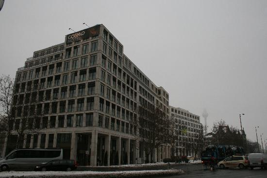 hotel front - hard to find - Picture of COSMO Hotel Berlin Mitte ...