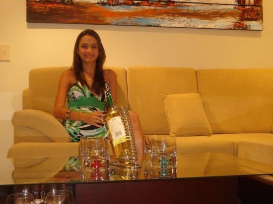 Hotel Arhuaco: En el Hotel!