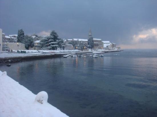 Porec u snijegu 22.12.2009