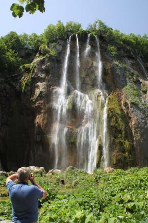 Opatija, Croacia: Udflugt til Plitvice vandfaldene
