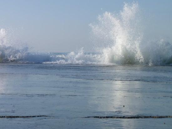 Forte Dei Marmi, Italie : Mare mosso presso la foce