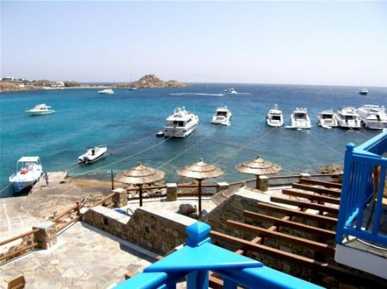 Petasos Town Hotel: Balcony shot - Mykonos