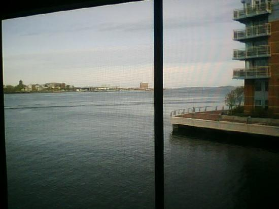 Battery Wharf Hotel, Boston Waterfront: The view from our room