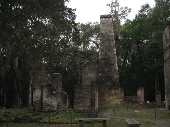 Flagler Beach, FL: Bulow Plantation Ruins SP - the sugar mill ruins