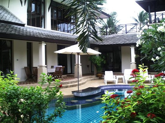 Banyan Villas (Thailand) Co., Ltd.: A perfect pool and garden.