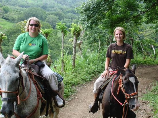 Star Mountain Horse Tours : My daughter and me on the horses