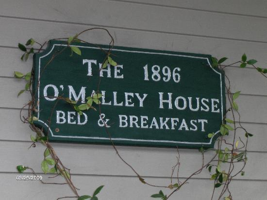 1896 O'Malley House Bed and Breakfast: Great B & B!!!