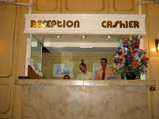 Victoria Hotel: Cheeky reception boys
