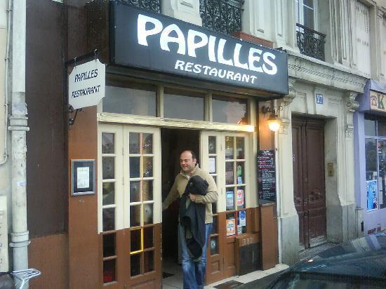 Papilles (Paris, FR) Entrance