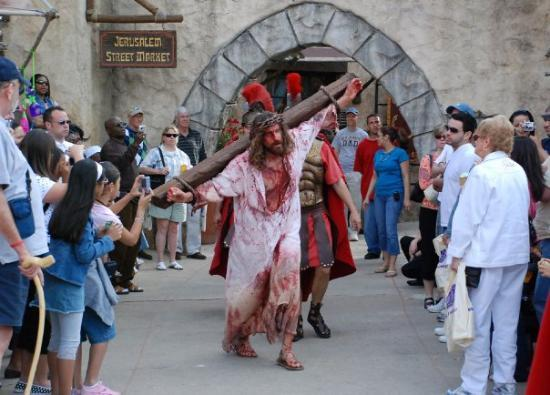 the passion of jesus the holy land experience orlando fl