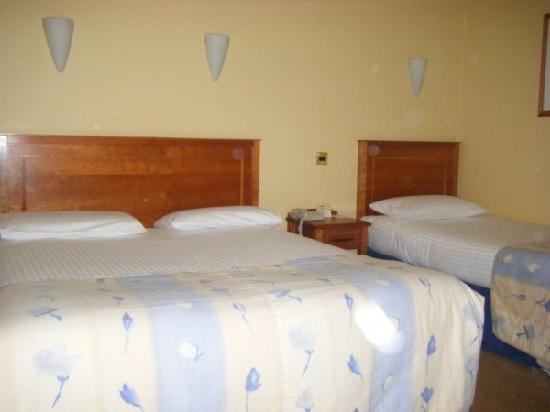 Springhill Court Conference, Leisure & Spa Hotel: twin room with double and signle bed