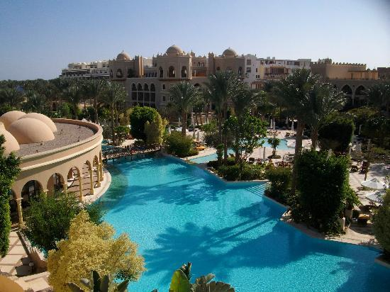 The Makadi Palace Hotel: view from our room!