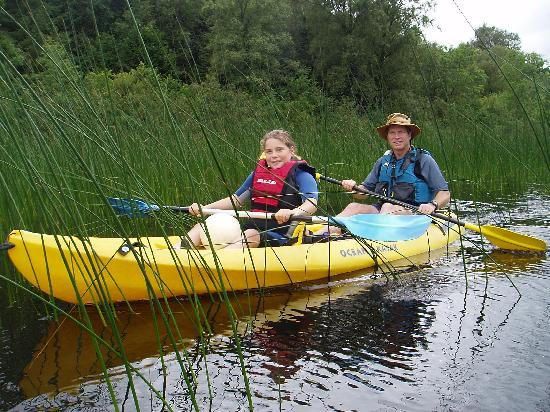 Corralea Activity Centre and Cottages: Canoeing on Lough Macnean