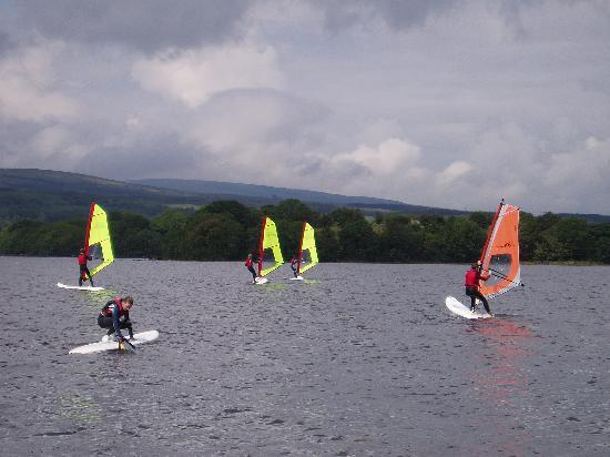 Corralea Activity Centre and Cottages: Windsurfing for beginners