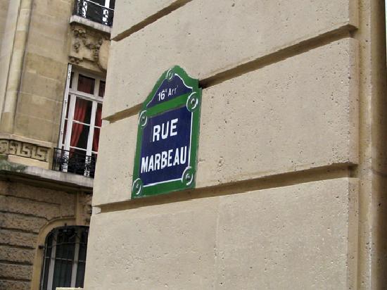 Hotel Residence Foch: Rue Marbeau