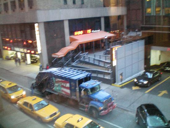 The Manhattan Club: Hooters (view from our window)