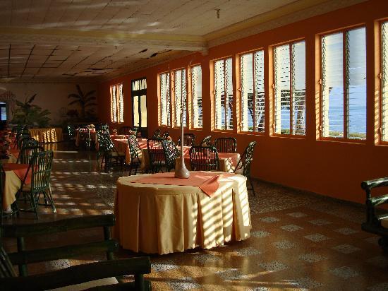 Hotel Guarocuya: Zona ristorante