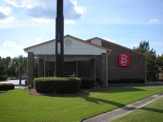 Red Roof Inn Hardeeville: CANOPY AREA