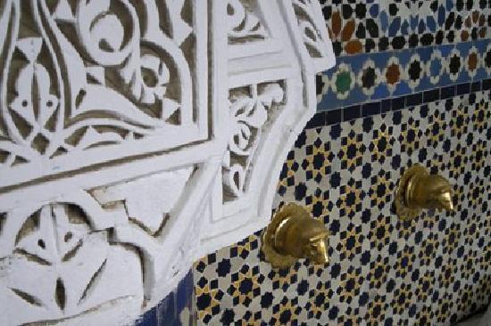 Riad Zitouna: La fontaine