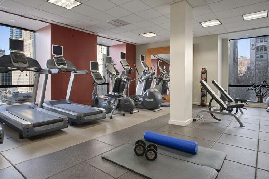 Millenium Hilton: Complimentary access to exercise room