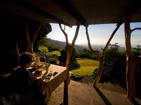 Hobbit House: Breakfast with view