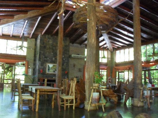 La Aldea de la Selva Lodge: the breakfast area