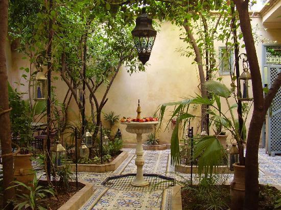 Riad Al Nour: Le patio