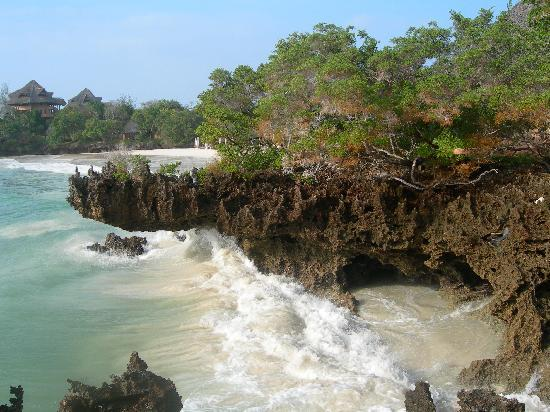The Sands At Chale Island: scorcio scogliera
