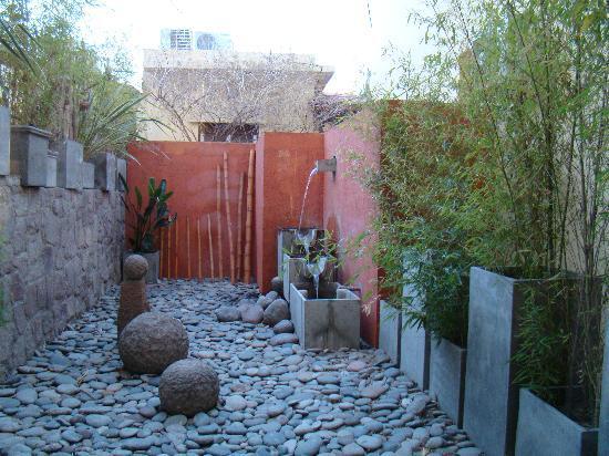 Los Sauces Hotel & Spa: Jardín