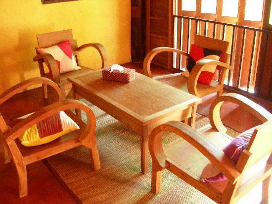 Tanita House: Downstairs sitting area