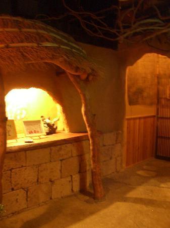 Arden Hotel Aso: ホテル内の温泉の入り口