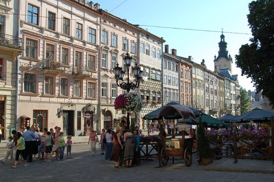 Lviv, Ukraina: Old Town