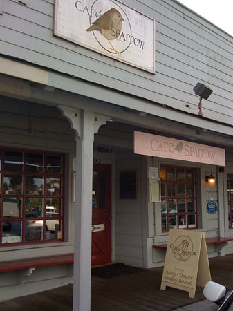 Cafe Sparrow in downtown Aptos