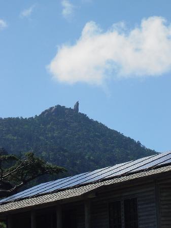 Mt. Tachudake: ヤクスギランドから見た天柱石