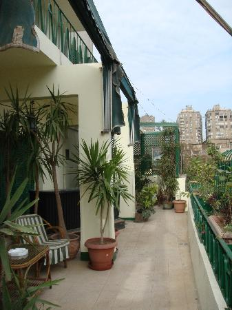 Hotel Longchamps: Balcony