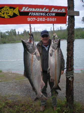 Jimmie Jack's Alaska Lodge: Kenai Kings